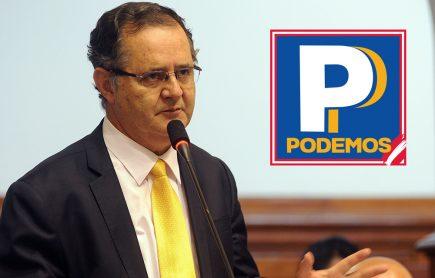 Elecciones 2021: Marco Falconí va con el número uno por Podemos Perú