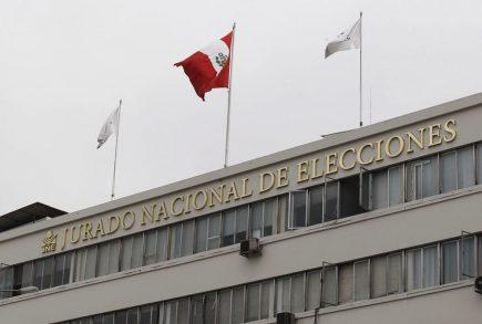Elecciones 2021: Partidos políticos presentan candidatos ante el JNE