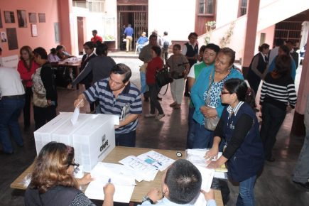 ONPE: Se instaló el 100% de mesas electorales en elecciones internas