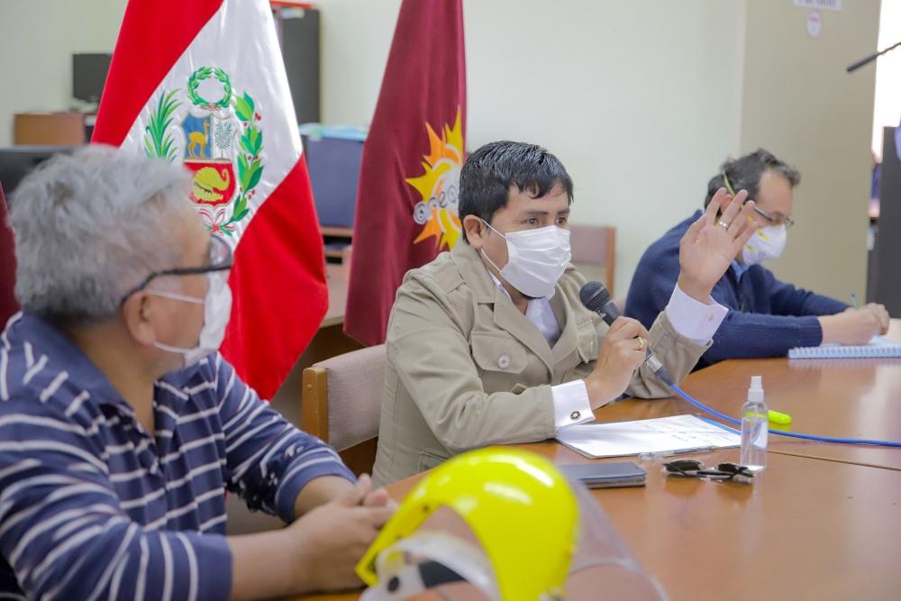 "Gobernador de Arequipa tras portazo a GORE Ejecutivo: ""Para ir a saludar no tengo tiempo"""