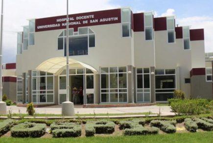 Arequipa: Hospital Docente UNSA cuenta con planta de oxígeno medicinal