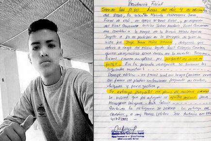 Jorge Muñoz murió por  proyectil de arma de fuego según necropsia