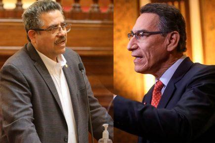 Manuel Merino a Martín Vizcarra: Es una persona «corrupta y coimera» (VIDEO)