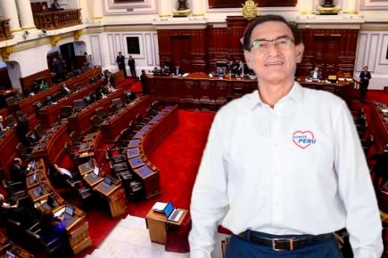 Martín Vizcarra sobre el Congreso: «Es una decepción para todos los peruanos»