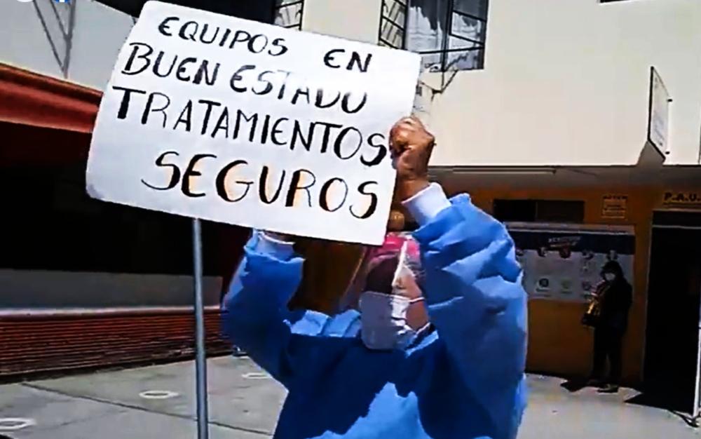 Arequipa: médicos del Goyeneche reclaman por mejor atención a pacientes