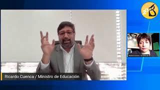 Pico a pico: Entrevista con el ministro de Educación, Ricardo Cuenca