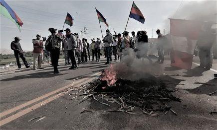 Moquegua, huelga de hambre de alcaldes y protestas: la carretera de la discordia