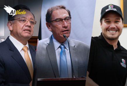 Vizcarra no podrá postular si aprueban informe de Alarcón  |  Al Vuelo Noticias