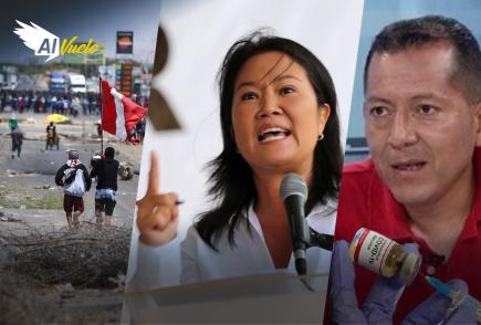 Keiko Fujimori afirma que las protestas son culpa de «la izquierda radical» |  Al Vuelo Noticias