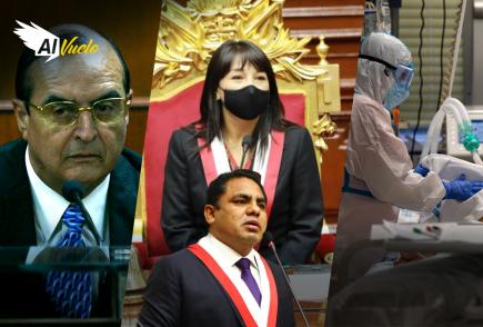 Mirtha Vásquez y Podemos Perú, enfrentados por ley de ONP  |  Al Vuelo Noticias