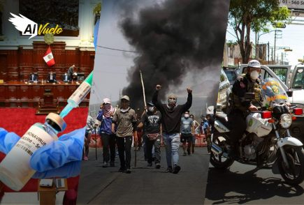 Ica: Policía habría lanzado lacrimógenas a casas afectando a niños  |  Al Vuelo Noticias