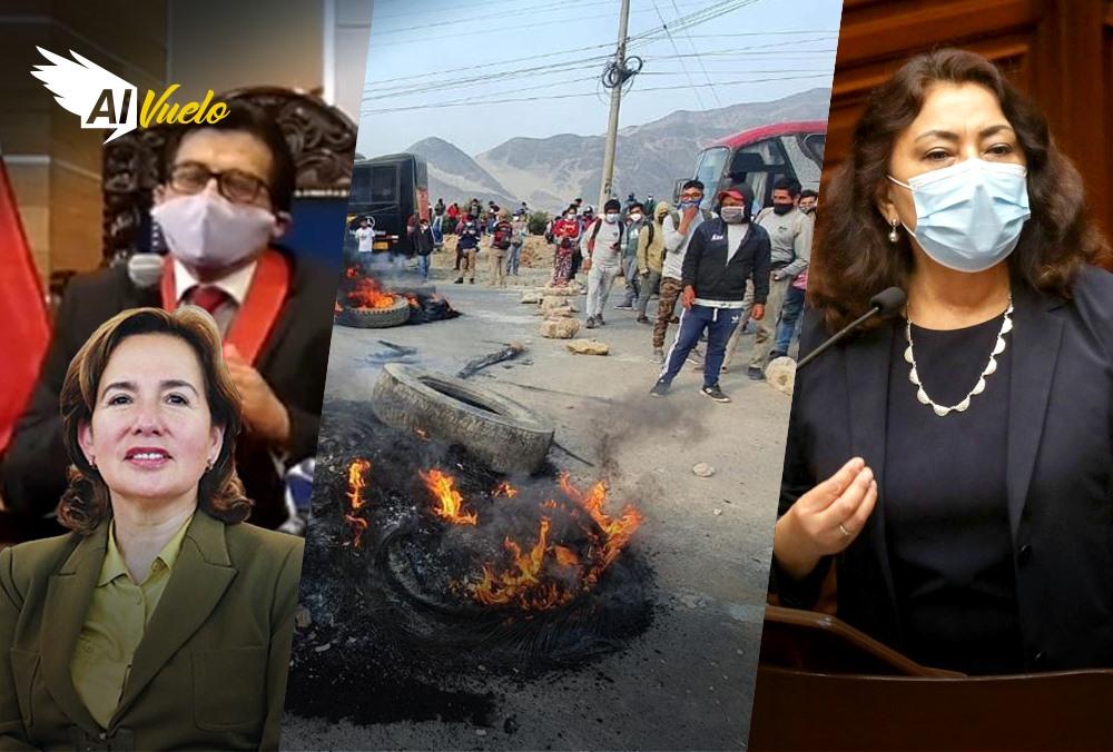 noticias arequipa violeta bermudez muerto protestas piura ica