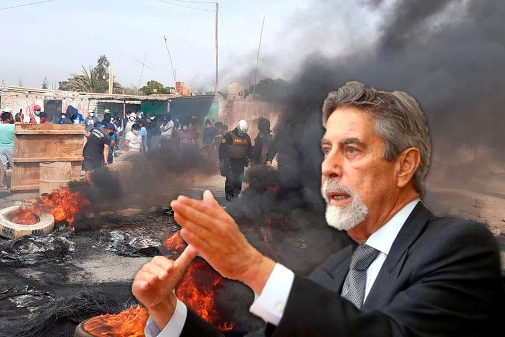 paro agrario Francisco Sagasti noticias Arequipa