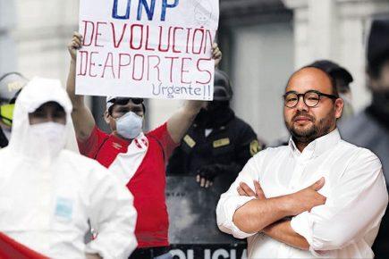 Diethell Columbus sobre devolución de la ONP: «Estamos jugando con las esperanzas de la gente»