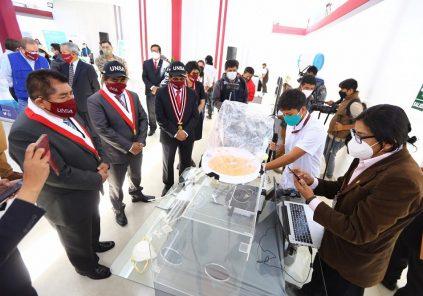 Arequipa: UNSA inaugura primer Parque Científico y Tecnológico del Perú