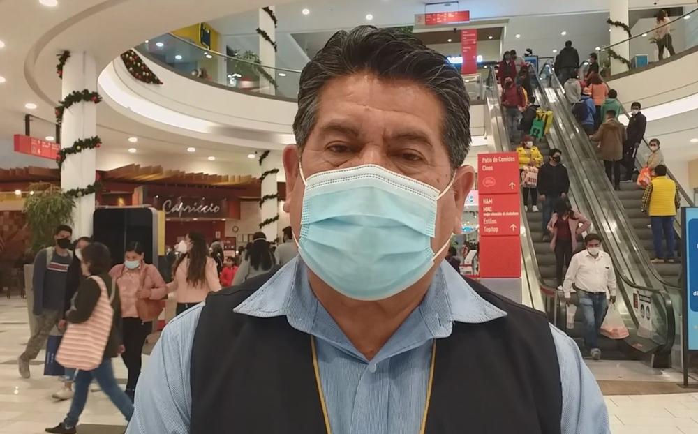 Jefe de Comando Covid-19 Arequipa:  hay mal uso de la mascarilla y aglomeraciones