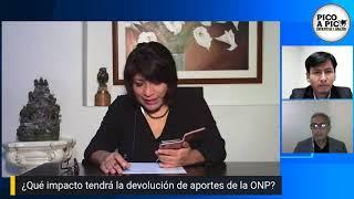 Pico a pico: Congresistas explican su voto en ley ONP / Situación en Ica y La Libertad