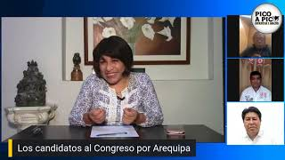 Pico a Pico: conoce a los candidatos al Congreso por Arequipa