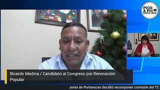 Pico a pico: Candidatos al Congreso y la reactivación económica del sector Cultura