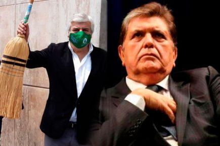 Fernando Olivera vuelve a postular a  la presidencia y afirma Alan García está vivo