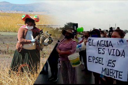 Protestas en varios puntos del país por agua contaminada con arsénico