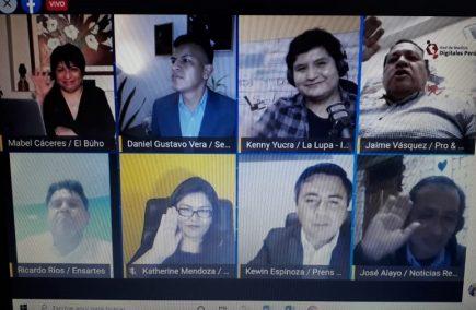 Diez regiones integran la Red de Medios Digitales del Perú para cubrir Elecciones 2021