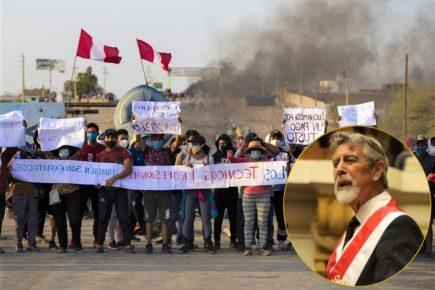 Sagasti anuncia investigación, tras confirmarse fallecido en protesta agraria