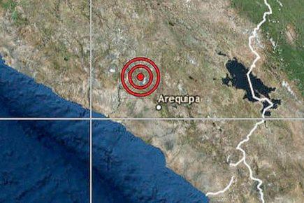 Arequipa: intenso sismo de 5.5 grados tuvo epicentro al sureste de Vítor (VIDEO)
