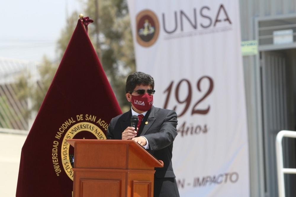 Arequipa: Rector de la UNSA rechaza irregularidades en pago de bonos
