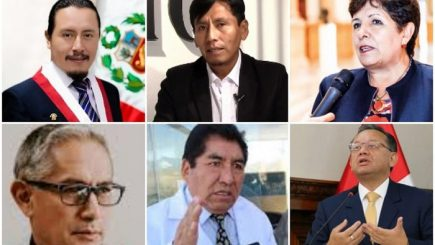 autoridades legislativas de Arequipa