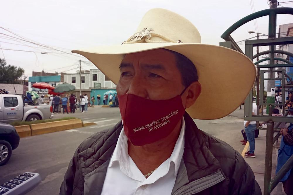 arequipa valle tambo marcha dirigentes sentenciados tía maría