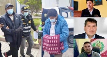 Ayacucho: 4 alcaldes a prisión por caso 'Los magníficos ediles'