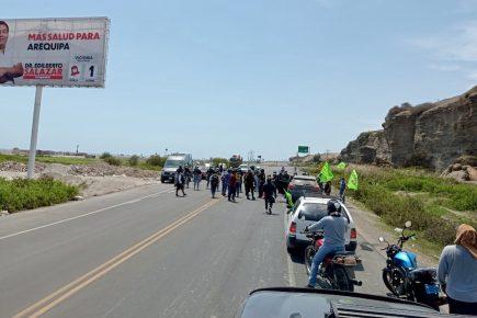 arequipa tia maría protestas valle de tambo