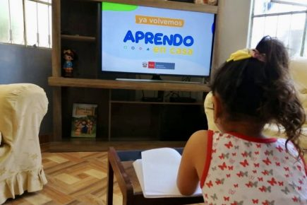 Primer mes del Año Escolar 2021 será virtual por la pandemia de la covid en Perú