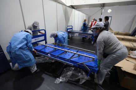 Gobierno amplía camas UCI ante incremento de contagios por coronavirus
