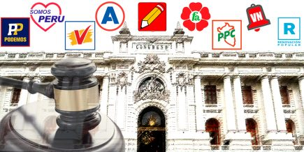 Nueve partidos postulan a candidatos sentenciados por corrupción