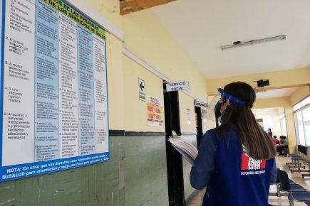 Defensoría: hay «diferencias significativas» entre datos de salud del Estado y regiones