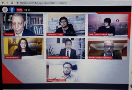 Red de Medios Digitales del Perú inició cobertura conjunta de Elecciones 2021