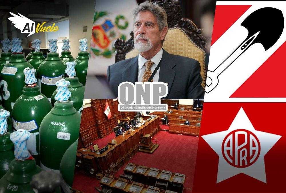 Onp congreso noticias arequipa apra accion popular elecciones 2021 pitbull oxigeno