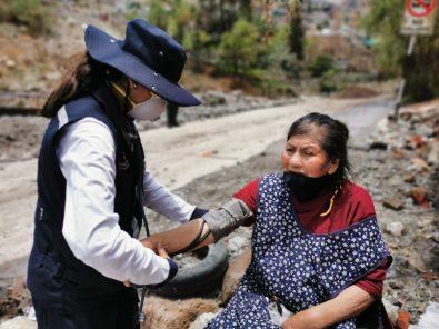 Geresa brinda atención a vecinos de Pozo Negro afectados por fuertes lluvias