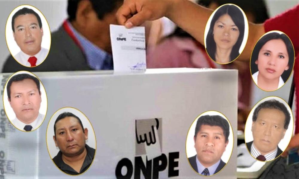 Candidatos a Elecciones 2021 en Arequipa con sentencias.