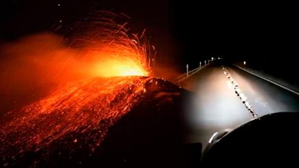 Terremoto de 6.4 sacude Argentina y volcán de Italia vuelve a erupcionar
