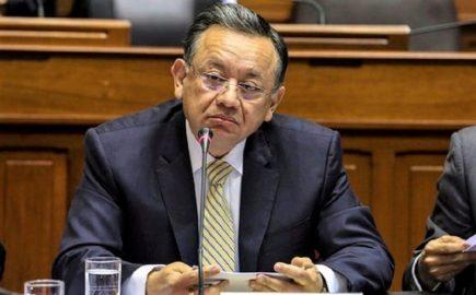 Acusación por enriquecimiento ilícito contra Edgar Alarcón estaría el 21 de enero