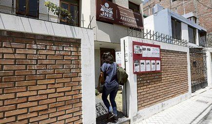 Elecciones 2021: tres candidatos excluidos y 9 en riesgo en Arequipa
