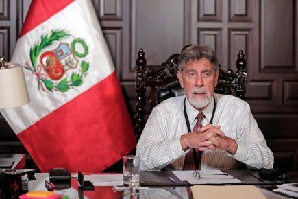 Sagasti sobre regreso a cuarentena: «Saldremos de esta crisis» (VIDEO)