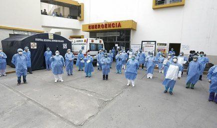Arequipa: denuncia de médicos del Honorio Delgado se eleva a fiscalía penal