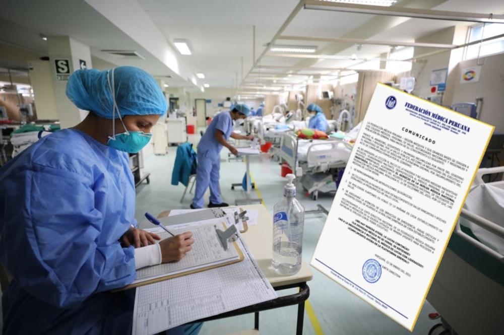 Huelga médica en Arequipa