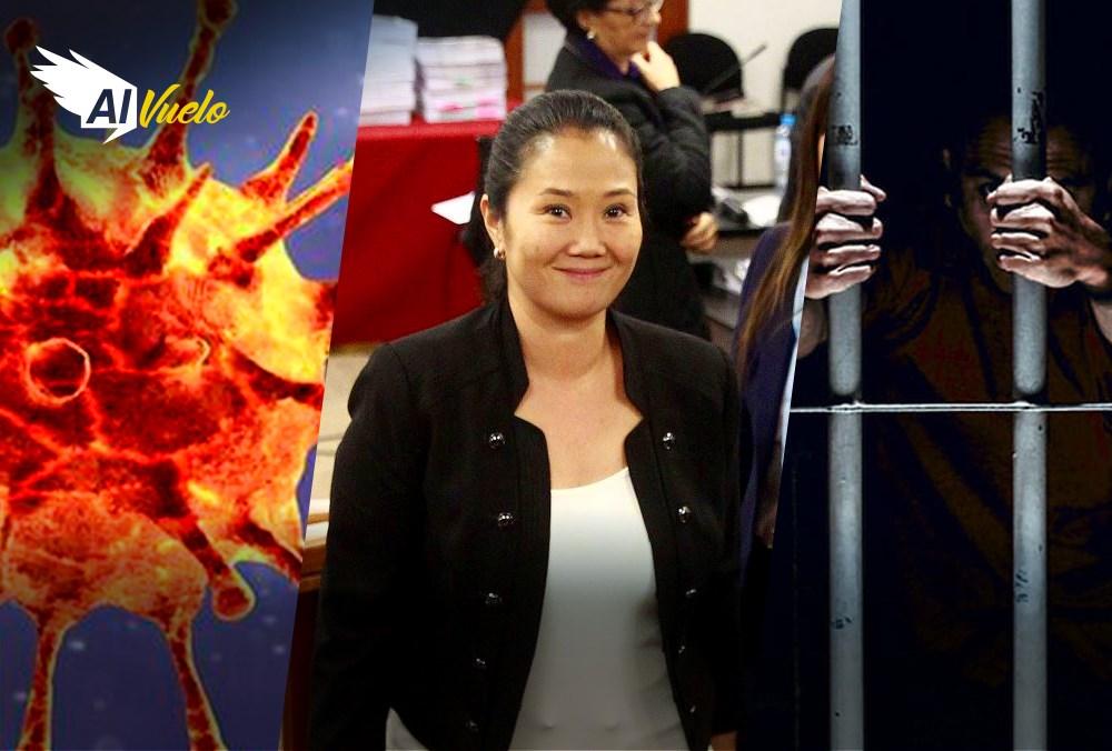 Keiko fujimori noticias arequipa nueva cepa coroanvirus peru hospital camas segunda ola
