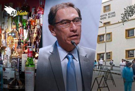 Yeni Vilcatoma logró la exclusión de Vizcarra al Congreso | Al Vuelo Noticias