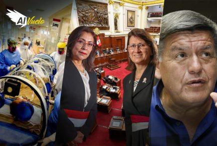 Congreso cita a jefa PCM y ministra de Salud por segunda ola  | Al Vuelo